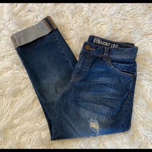 New York & Co Low Rise Jeans Sz 2 Cropped